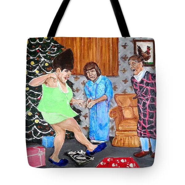 Please Dawn Not On Christmas Tote Bag