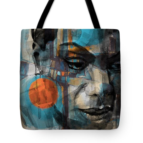Tote Bag featuring the mixed media Please Don't Let Me Be Misunderstood by Paul Lovering