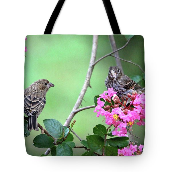 Tote Bag featuring the photograph Please, May I Have Some? by Trina Ansel