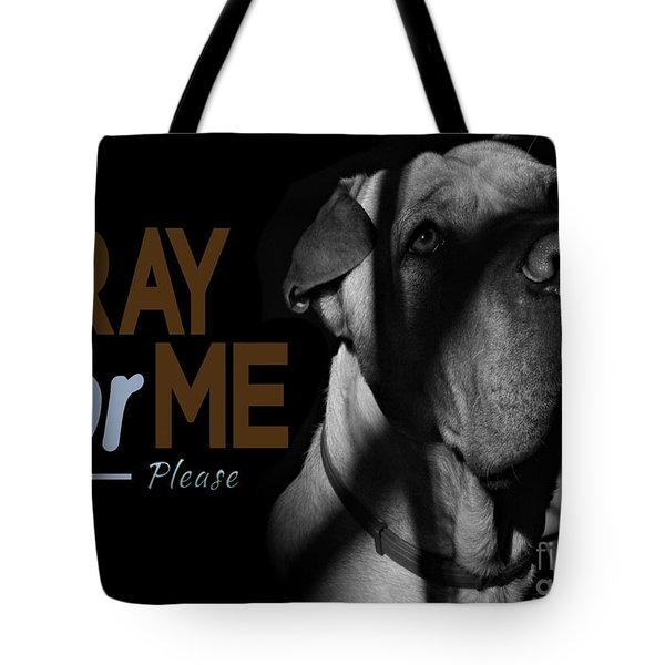 Please Pray For Me Tote Bag