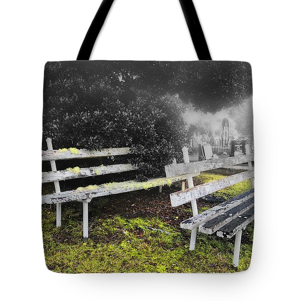 Tote Bag featuring the photograph Please Take A Seat 001 by Kevin Chippindall