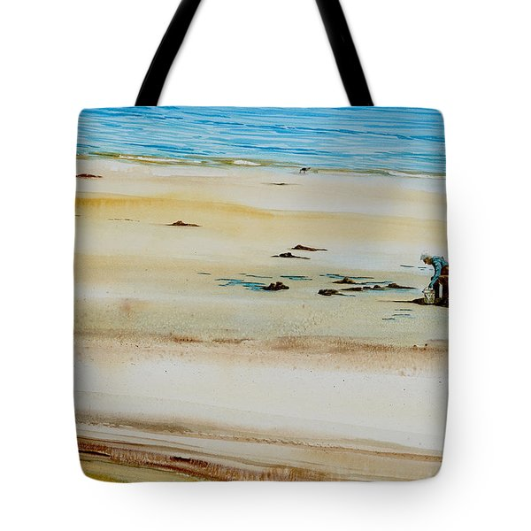 Pleasant Bay Clammer Tote Bag