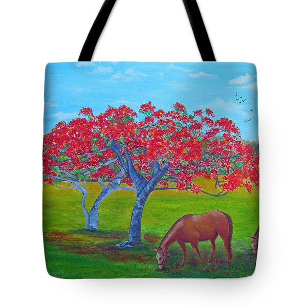 Pleasent Pastures Tote Bag