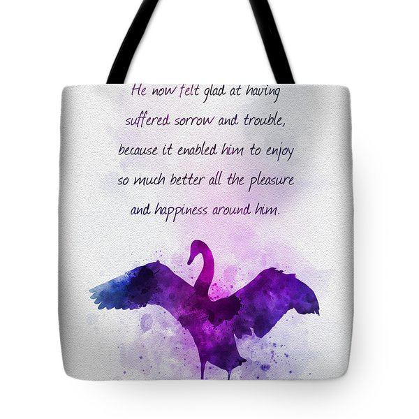 Pleasure And Happiness Tote Bag