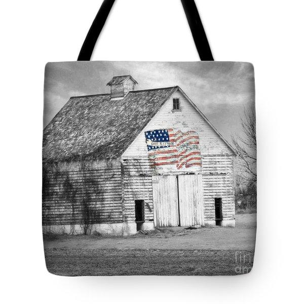 Pledge Of Allegiance Crib Tote Bag