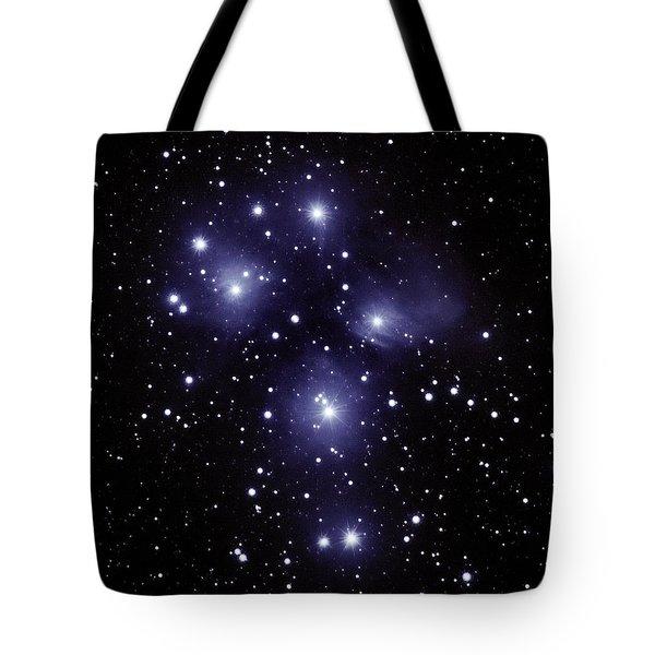 M45 Pleiades Tote Bag