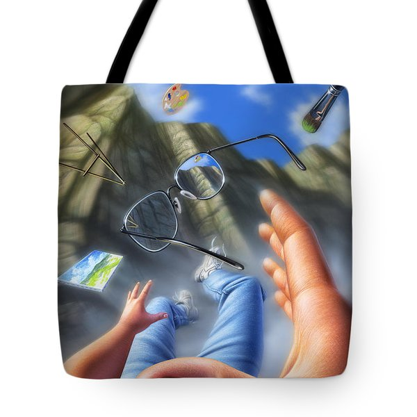 Plein Air Tote Bag by Jerry LoFaro