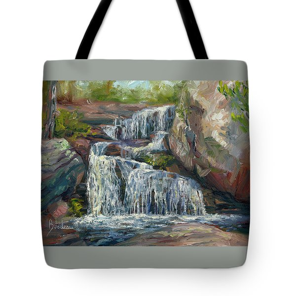 Plein Air - Waterfall Tote Bag