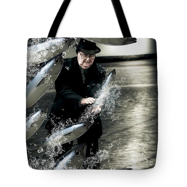 Plenty Of Fish In The Sea Tote Bag by Jorgo Photography - Wall Art Gallery