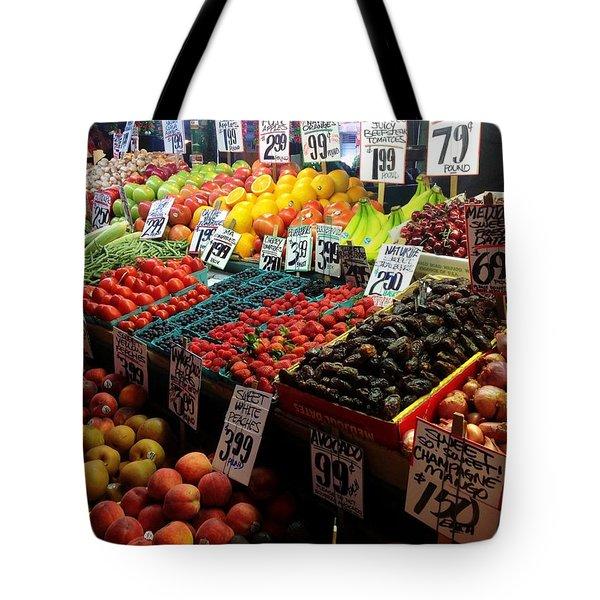 Plethora Of Fruit Tote Bag