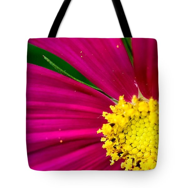 Plink Flower Closeup Tote Bag