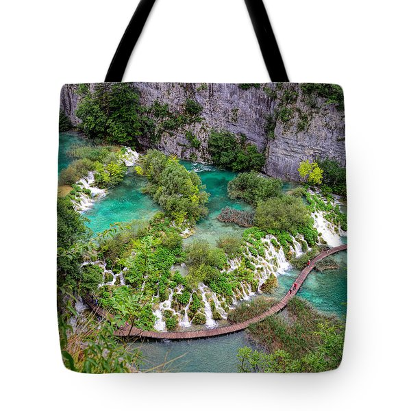 Plitvice Lakes National Park Tote Bag