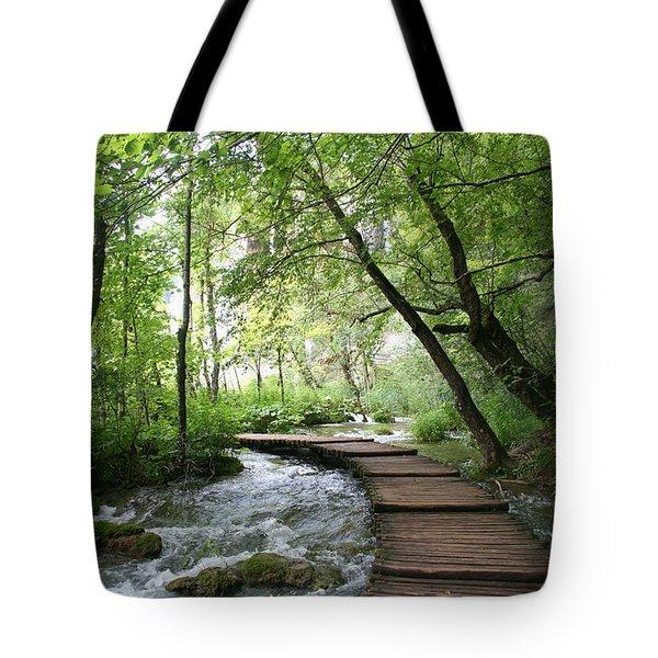 Plitvice Lakes National Park Tote Bag