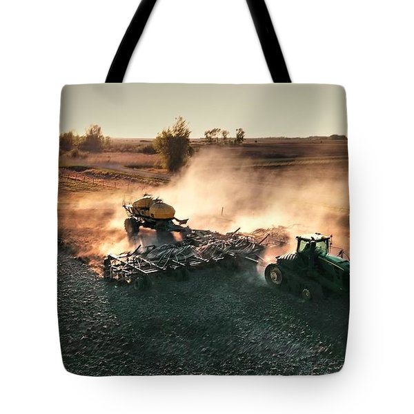 Plow The Fields And Scatter  Tote Bag