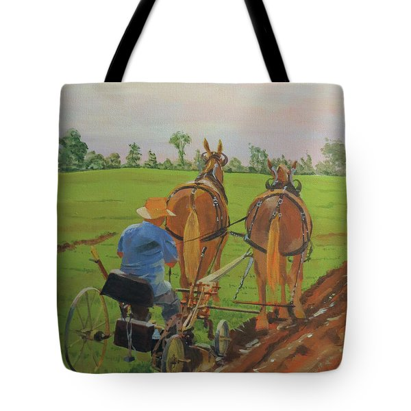 Plowing Match Tote Bag