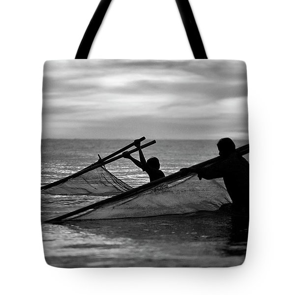 Plowing The Sea - Thailand Tote Bag
