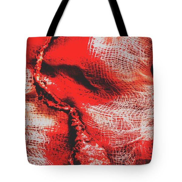 Plucking Out The All Seeing Eye Tote Bag