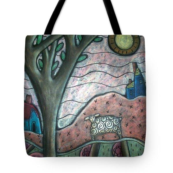 Plum Blooms Tote Bag by Karla Gerard
