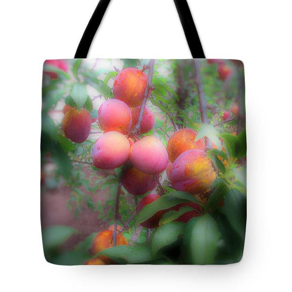 Plum Delight Tote Bag