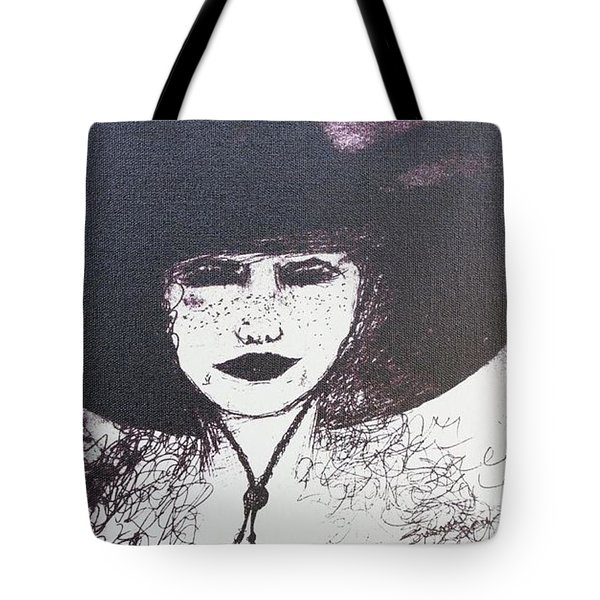 Plum Gorgeous Tote Bag by Susan Gahr