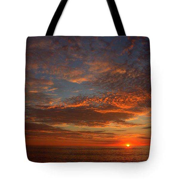 Plum Island Sunrise Tote Bag