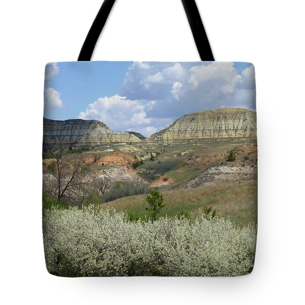 Plum Thicket Near The Burning Coal Vein Tote Bag