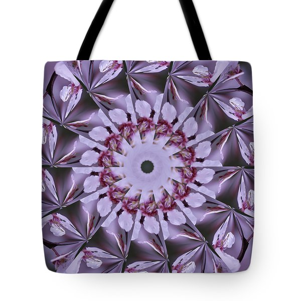 Tote Bag featuring the photograph Plum Tree Kaleidoscope by Bill Barber