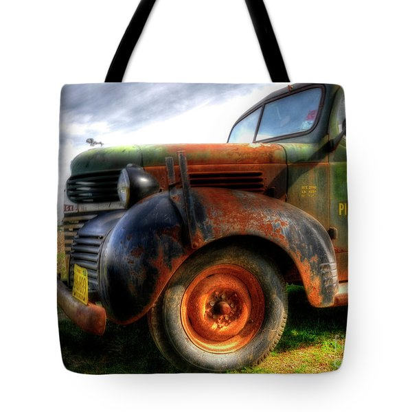 Plumbing And Heating Tote Bag by Trey Foerster