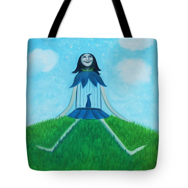Plume Joy Tote Bag by Tone Aanderaa
