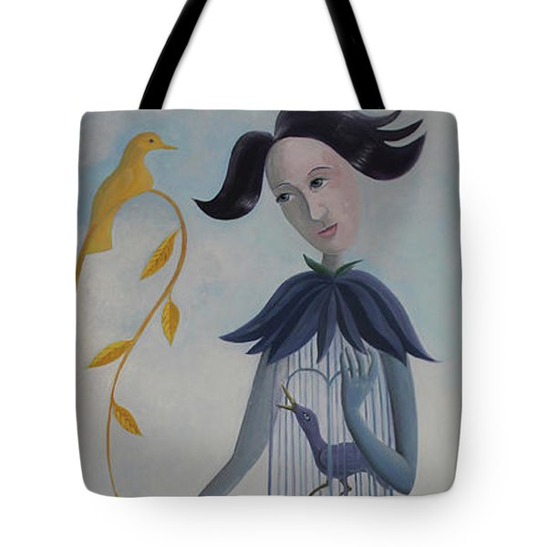 Plume Tote Bag by Tone Aanderaa
