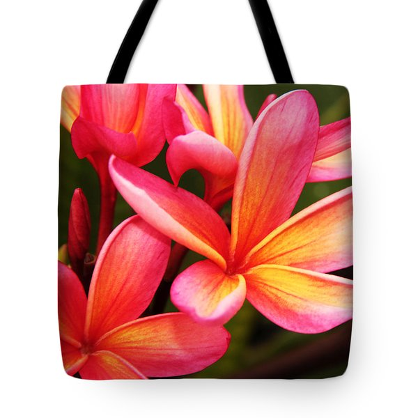 Plumeria - Pretty Pink Tote Bag