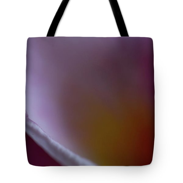 Tote Bag featuring the photograph Plumeria Edge by Roger Mullenhour