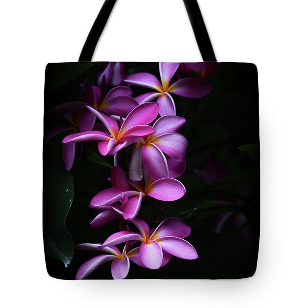 Tote Bag featuring the photograph Plumeria Light by Kelly Wade
