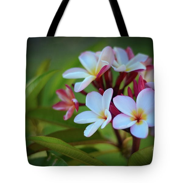 Tote Bag featuring the photograph Plumeria Sunset by Kelly Wade