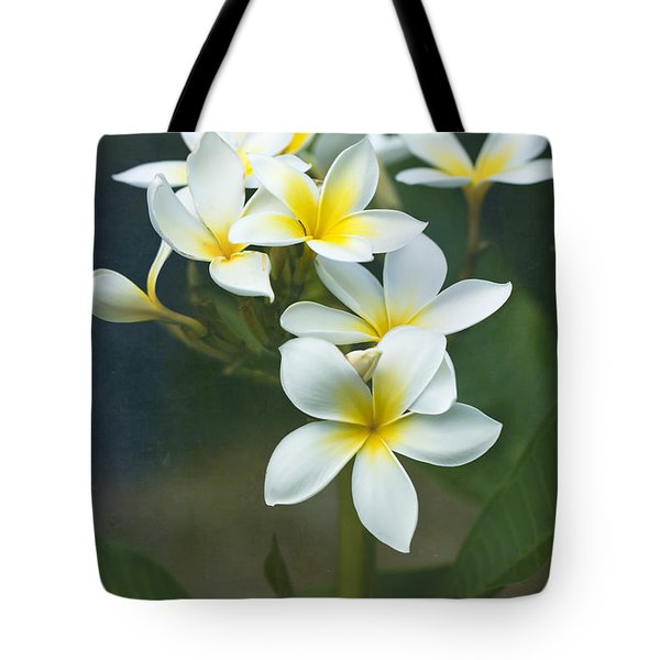 Plumerias On A Cloudy Day Tote Bag
