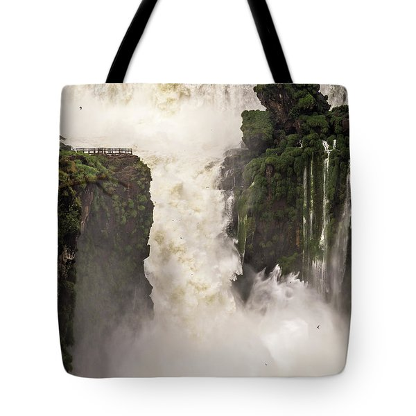 Tote Bag featuring the photograph Plunge by Alex Lapidus