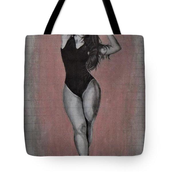 Plus Model Tote Bag