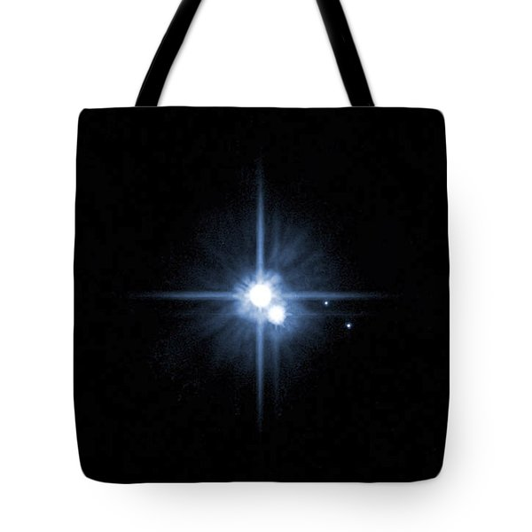 Pluto And Its Moons Charon, Hydra Tote Bag by Stocktrek Images