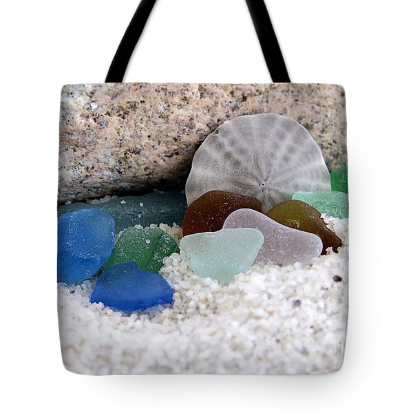 Plymouth Beach Treasures Tote Bag