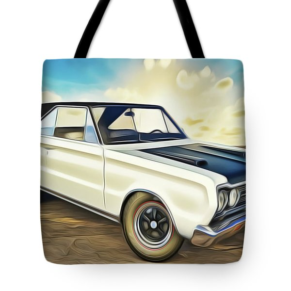 Tote Bag featuring the painting Plymouth by Harry Warrick