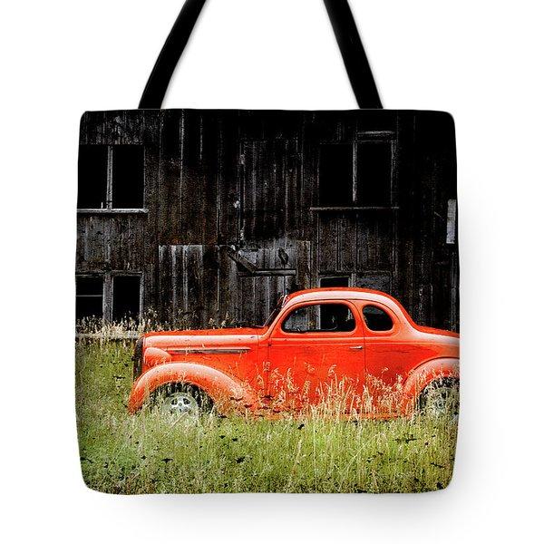 Plymouth Hot Rod Tote Bag