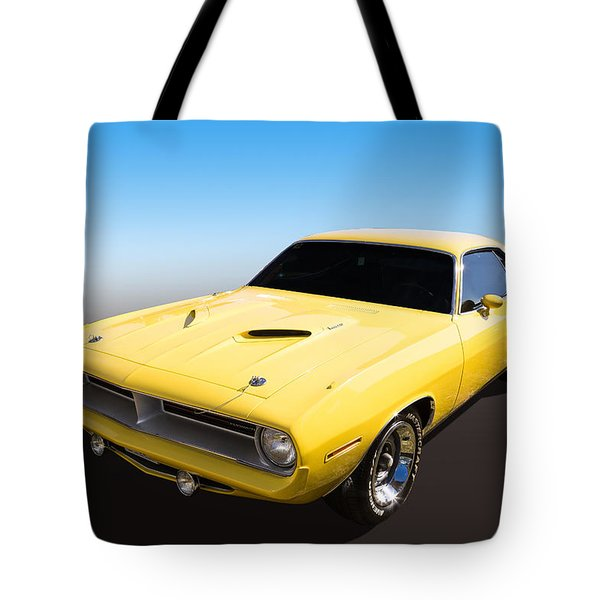 Tote Bag featuring the photograph Plymouth Muscle by Keith Hawley