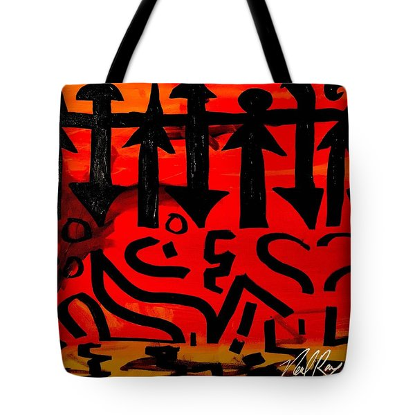 Pmurt Abstract  Tote Bag