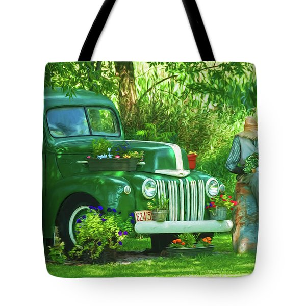 Po Boy Acres Tote Bag by Trey Foerster