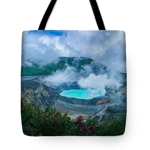 Poas Volcano, Costa Rica Tote Bag