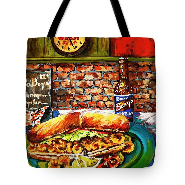 Po'boy Time Tote Bag