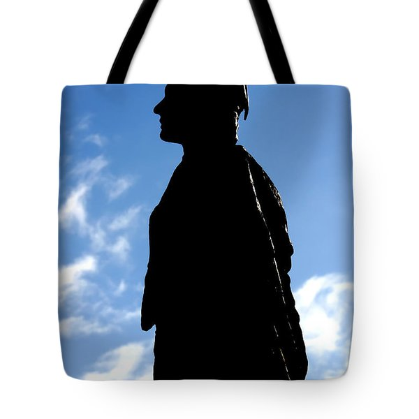 Tote Bag featuring the photograph Pocahontas by KG Thienemann