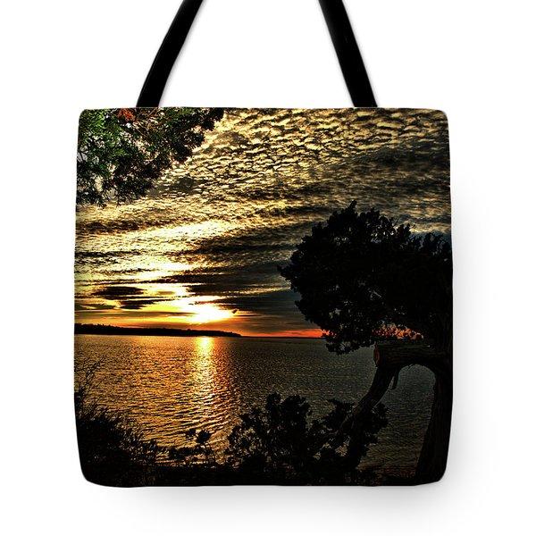 Pocasset Sunset Tote Bag