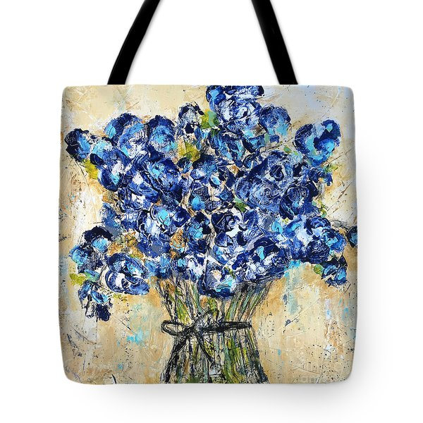 Pocket Full Of Posies Tote Bag