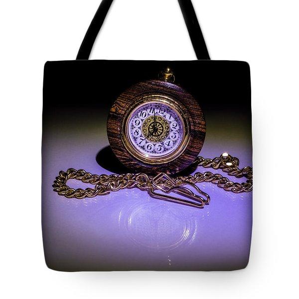 Pocket Watch Tote Bag